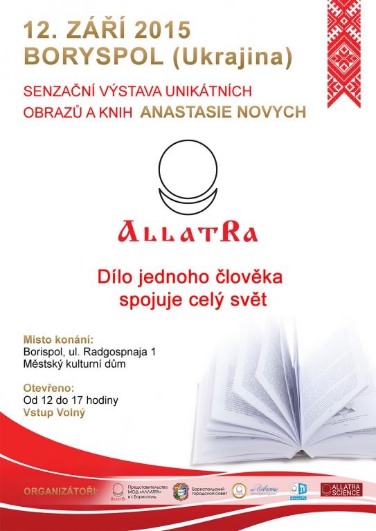 Senzační výstava unikátních obrazů a knih ANASTASIE NOVYCH